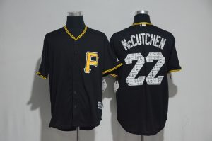 2017 MLB Pittsburgh Pirates 22 Mccutchen Black Fashion Edition Jerseys