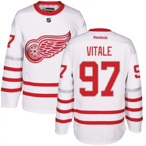 2017 NHL Detroit Red Wings 97 Vitale White Jerseys