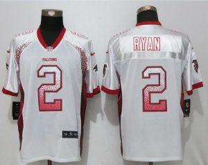 New Nike Atlanta Falcons 2 Ryan Drift Fashion White Elite Jerseys