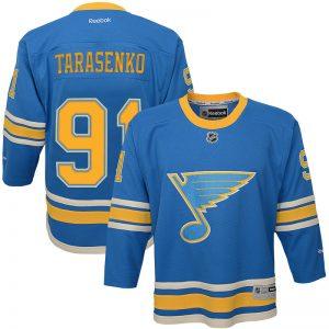 Youth St. Louis Blues 91 Vladimir Tarasenko Reebok 2017 Winter Classic Premier Jersey