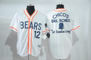 2017 MLB Chicago Cubs 12 white jerseys