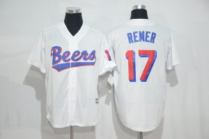 2017 MLB Chicago Cubs 17 Remer white jerseys