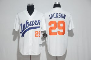 2017 MLB Chicago Cubs 29 Jackson white jerseys