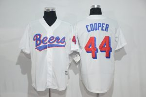 2017 MLB Chicago Cubs 44 Cooper white jersesy